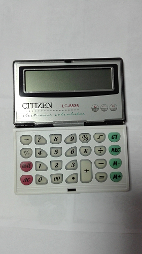 калькулятор citizen lc-8836 12разр
